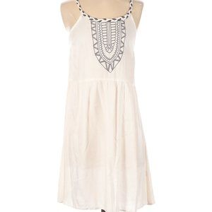 5th & Love White Embroidered Sleeveless Mini Dress
